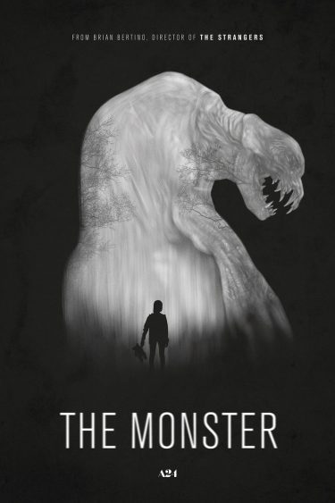 The monster - poster