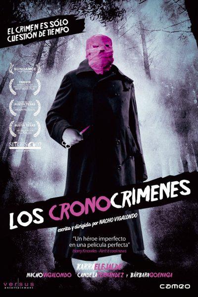 Los cronocrimenes - poster