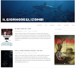 Il giorno degli zombi blog - poster