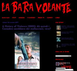 La Bara Volante blog - poster