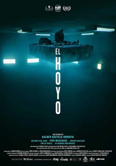 El Hoyo - Recensione film - Poster