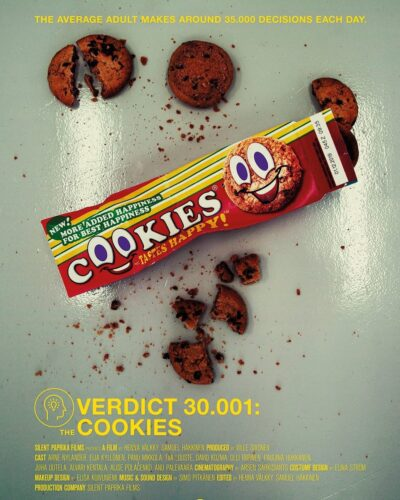 Verdict 30001 - Recensione cortometraggio - Poster Facebook